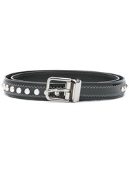 Dolce And Gabbana Studded Belt Black