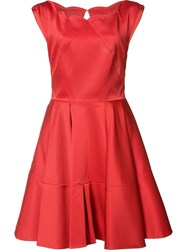 Zac Posen 'Cordelia' Dress Red