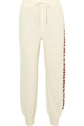 Missoni Intarsia Knitted Track Pants White