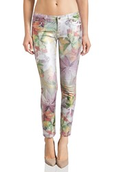 Juicy Couture Crop Jean Tropical Floral