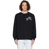 J.W.Anderson Jw Anderson Black Camelot Embroidery Long Sleeve T Shirt