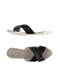 Cocorose London Footwear Sandals Black