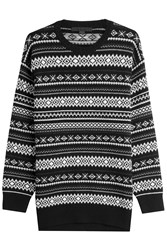 Alexander Wang Pullover With Wool And Cashmere Multicolor