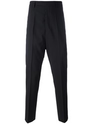 Rick Owens Tapered Trousers Black