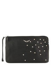 Zadig And Voltaire Uma Zipped Wallet Black