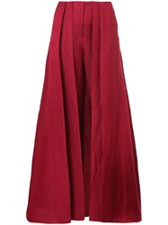 Hellessy Skirt Overlay Trousers Red