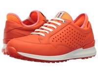 Ecco Speed Hybrid Fire Orange Neon Women's Shoes