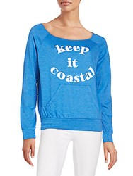 Candc California Florence Sweatshirt Pacific