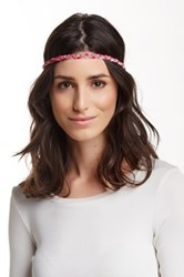 Cara Accessories Braided Headwrap Multi