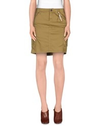 G Star G Star Raw Skirts Knee Length Skirts Women Sand