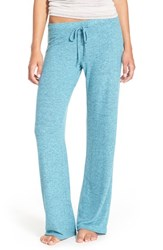 Make Model Women's 'Best Boyfriend' Brushed Hacci Lounge Pants Teal Britt