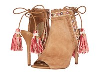 Sam Edelman Artie 2 Golden Caramel Pink Multi Women's Dress Sandals Brown