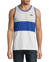 Howe Colorblocked Dri Fit Tank Top White