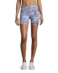 Alo Yoga Burn Shorts Mono Waves