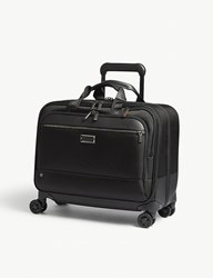 Briggs And Riley Work Large Spinner Nylon Briefcase Black