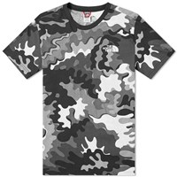 The North Face Psychedelic Camo Simple Dome Tee Black
