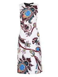 Mary Katrantzou Emma Urdu Paisley Print Faille Dress
