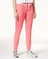 Jessica Simpson The Warm Up Juniors' Varsity Jogger Pants Pink