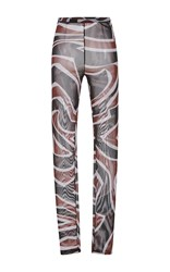 Emilio Pucci High Waist Leggings Multi