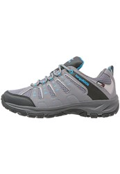 Kangaroos Botar Hiking Shoes Mid Grey Scubablue Light Grey