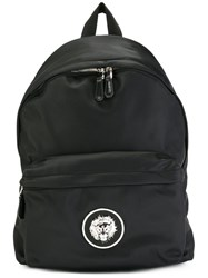 Versus Lion Head Backpack Black
