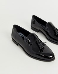 House Of Hounds Pointer Loafers In Black Patent