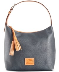 Dooney And Bourke Paige Sac Hobo Midnight Blue