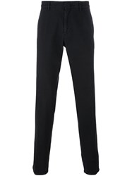 Z Zegna Slim Chino Trousers Black