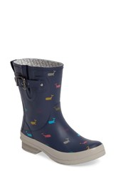 Chooka Women's Whales Mid Rain Boot