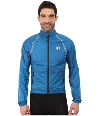 Pearl Izumi Elite Barrier Convertible Cycling Jacket Mykonos Blue Men's Coat