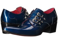 Jeffery West Triple Monk Gibson Charcoal Metal Blue