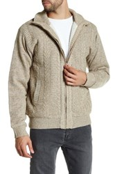 Suslo Couture Cable Knit Jacket Beige