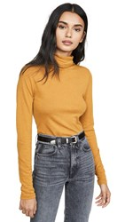 Club Monaco Julie Turtleneck Marigold Orange Sanguine