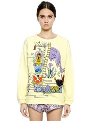 Mary Katrantzou Embroidered Cotton Sweatshirt