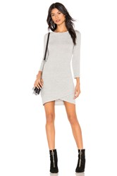 Bb Dakota Brush Up On It Dress Gray