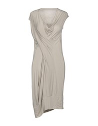 Malloni Short Dresses Grey