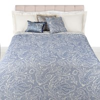 Etro Hendrix Quilted Bedspread 270X270cm Purple