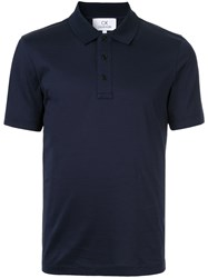 Ck Calvin Klein Short Sleeve Polo Shirt Blue
