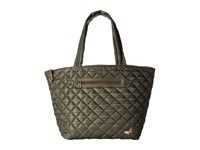 Sakroots Kota Reversible Nylon Tote Olive Flower Power Tote Handbags Brown