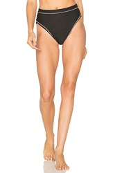 For Love And Lemons La Mer Hi Waist Bottom Black