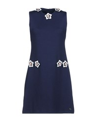 Cuple Short Dresses Dark Blue