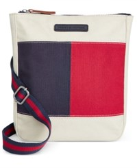 Tommy Hilfiger Flag Colorblock Flat Crossbody Parachute