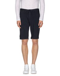 Sun 68 Trousers Bermuda Shorts Men Slate Blue