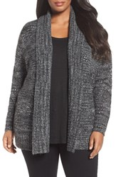 Sejour Plus Size Women's Shawl Collar Cardigan