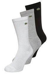 Lacoste 3 Pack Socks Argent Chine Light Grey