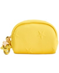 Tommy Hilfiger Small Zip Around Cosmetics Pouch Yellow