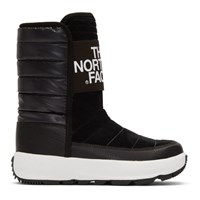 The North Face Black And White Ozone Park Winter Boots