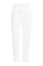 Bouchra Jarrar Cropped Cotton Pants