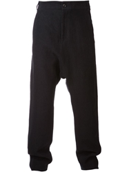 Alexandre Plokhov Long Drop Trousers Black