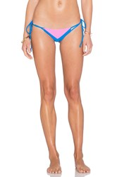 Cami And Jax Cami Jax Elizabeth Bikini Bottom Blue